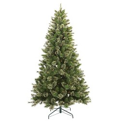 7.5ft Pre-lit Artificial Christmas Tree Full Virginia Pine Clear Lights - Wondershop™