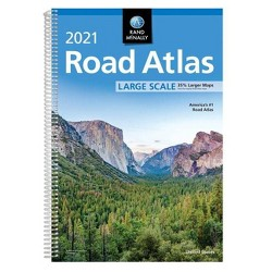Rand McNally 2021 Large Scale Road Atlas - (Paperback)