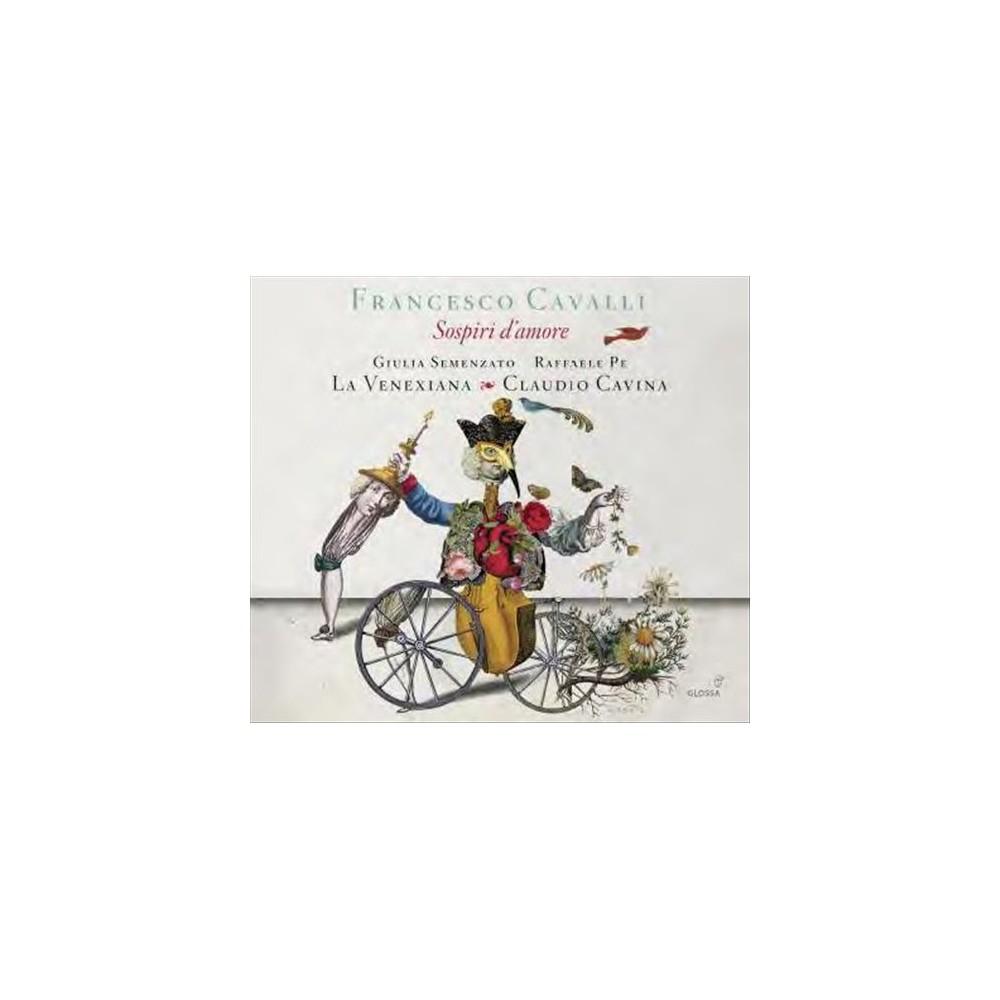 La Venexiana - Cavalli:Sospiri D'amore (CD)