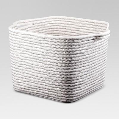 Coiled Rope Bath Basket White Medium - Threshold™