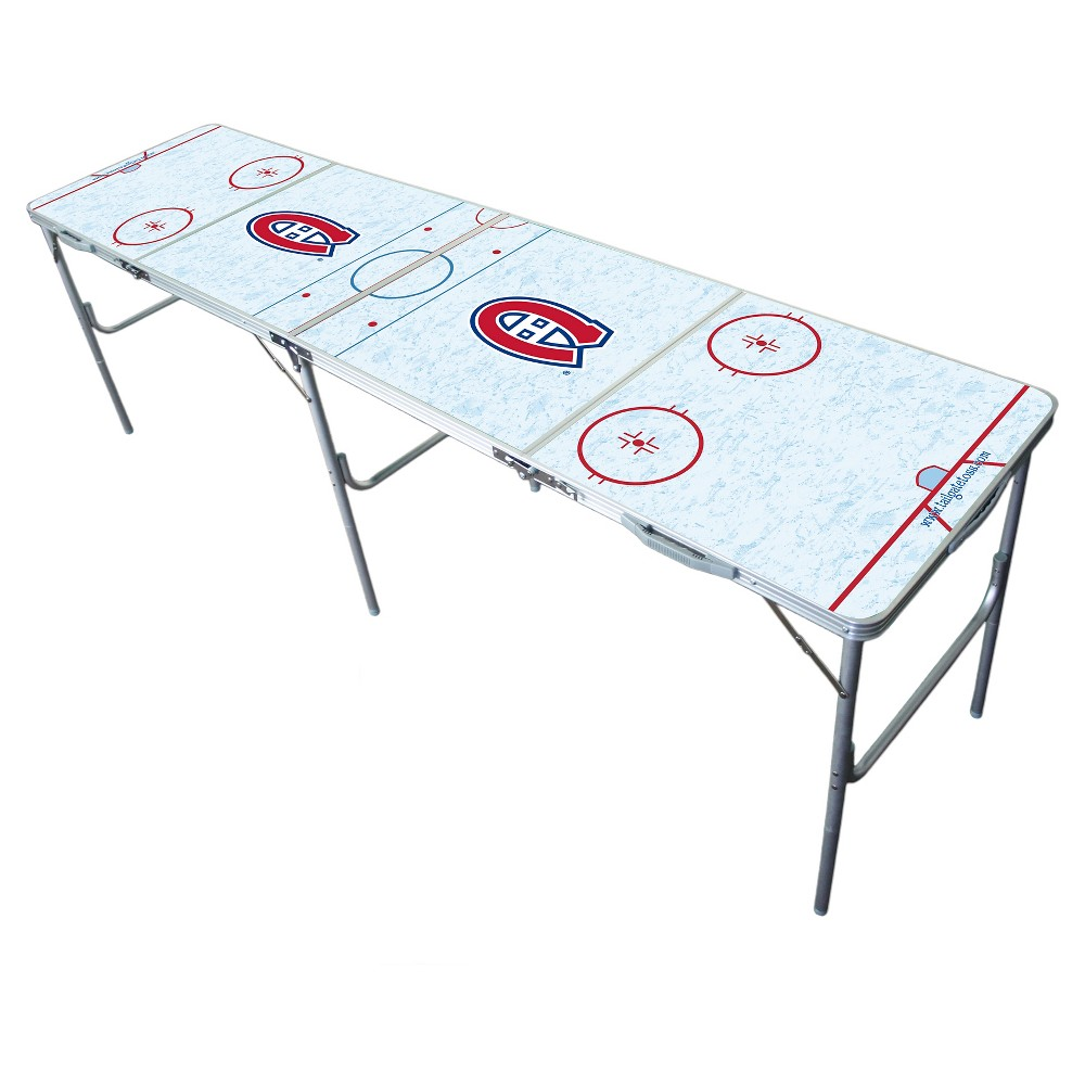 Montreal Canadiens Wild Sports Tailgate Table - 2'x8'