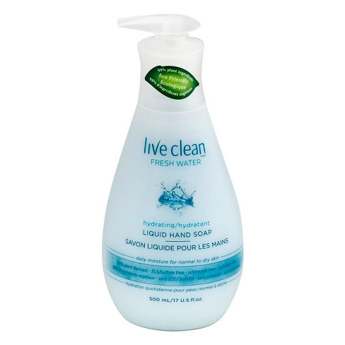 Live Clean Fresh Water Hydrating Liquid Hand Soap - 17oz - image 1 of 1