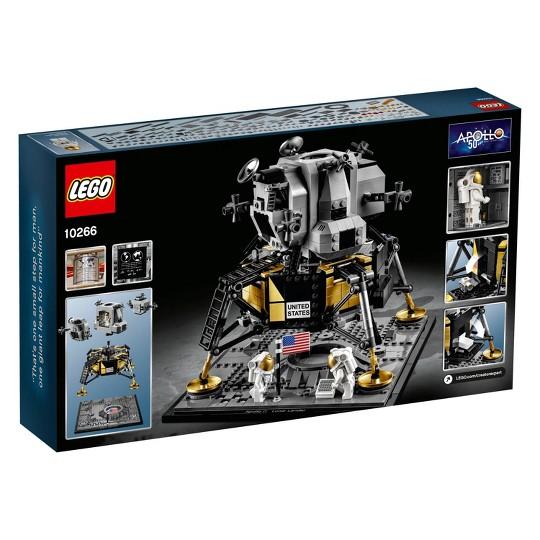 LEGO Creator Expert NASA Apollo 11 Lunar Lander Building Kit 10266 image number null