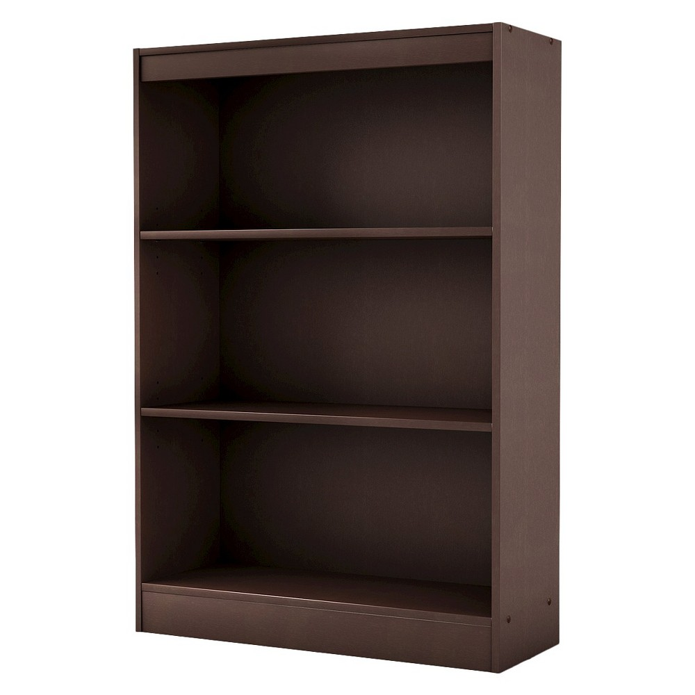 "Image of ""43.25"""" 3 Shelf Bookcase Chocolate - South Shore"""