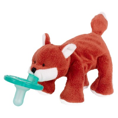 WubbaNub Fox Pacifier - Red