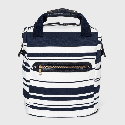 Zip Closure Square Backpack - A New Day™ Navy