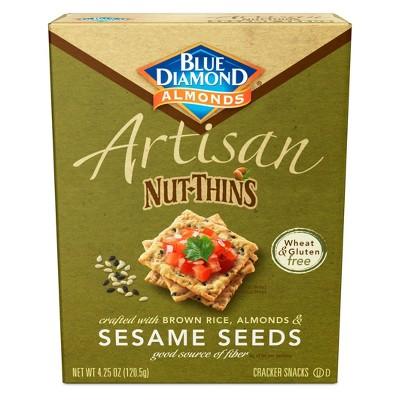 Blue Diamond Artisan Nut-Thins Crackers - 4.25oz