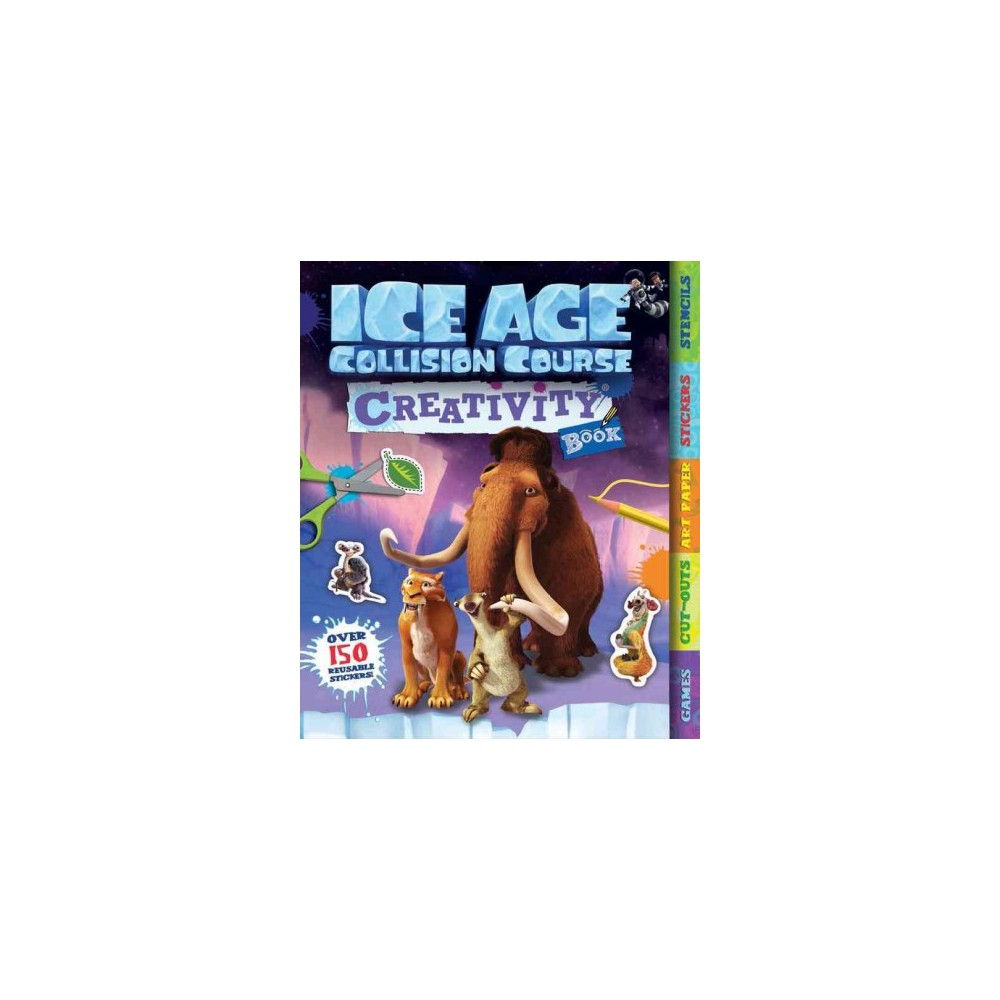 Ice Age Collision Course Creativity Book (Paperback)