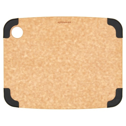 Epicurean 11.5x9 Non-Slip Cutting Board - Beige/Brown - image 1 of 4