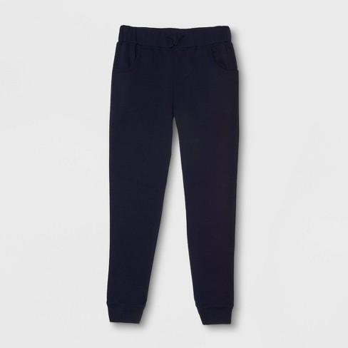 French Toast Girls' Uniform Fleece Jogger Pants - image 1 of 1