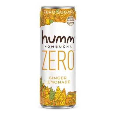 Humm Zero Ginger Lemonade Kombucha - 11 fl oz