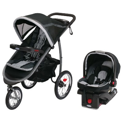 Graco® Fast Action Fold Jogger Click Connect™ Travel System - Gotham