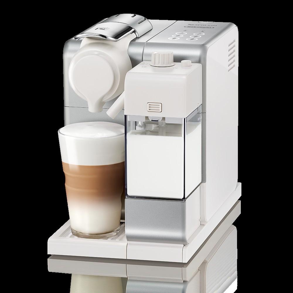 Nespresso Lattissima Touch Espresso Machine Frosted Silver by De'Longhi 53797456
