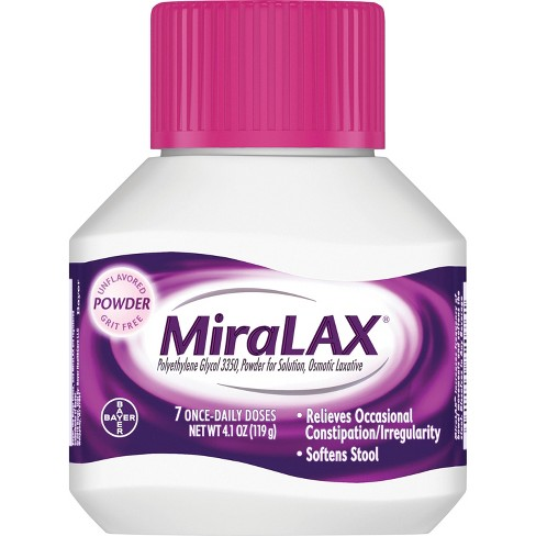 MiraLAX Laxative Powder - image 1 of 4
