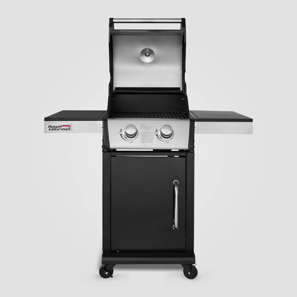 Image of 2 Burner Propane Gas Grill GG2101 Black - Royal Gourmet