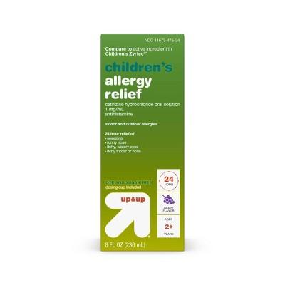 Cetirizine 1mg SF Liquid Allergy & Sinus Treatment - 8 fl oz - up & up™