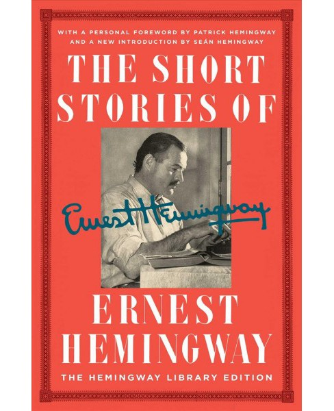 Short Stories of Ernest Hemingway : The Hemingway Library Edition -  (Hardcover) - image 1 of 1