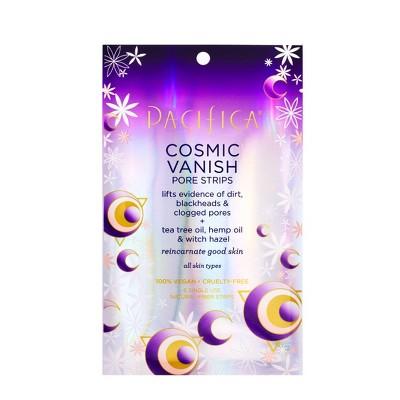 Pacifica Cosmic Vanish Natural Fiber Pore Strips - 6ct