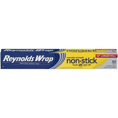 Reynolds Wrap Non-Stick Aluminum Foil - 50 sq ft