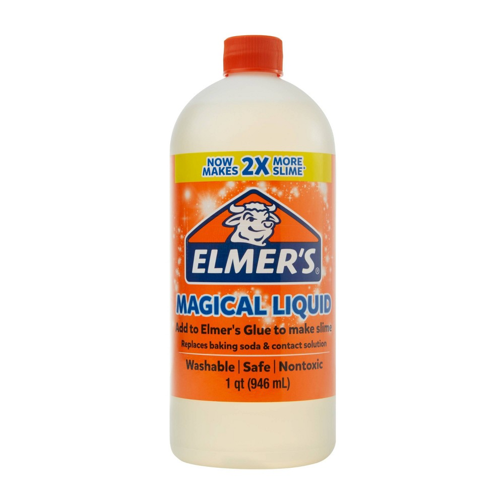 Image of Elmer's 1qt Slime Magical Glue Activator Solution - Clear