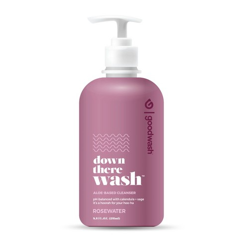 Goodwipes Down There Wash - Rosewater - 8.5oz - image 1 of 3