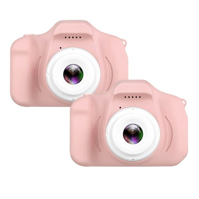 "Dartwood Digital Camera for Kids and Children - 2"" Color Display Screen 1080p 3-Megapixels, Micro-SD Card Slot (32GB SD Card Included) (2 Pack)"