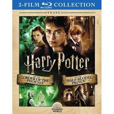 Harry Potter:Yr5 Order Phoenix/Yr6 Ha (Blu-ray)