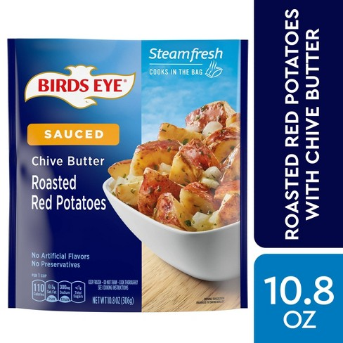 Birds Eye Steamfresh Frozen Roasted Red Potatoes with Chive Butter Sauce - 10.8oz - image 1 of 3