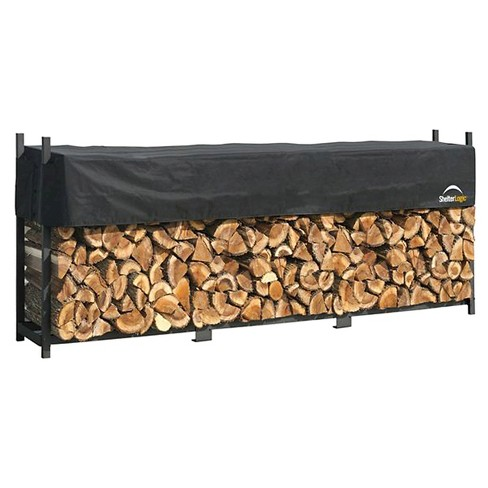 ShelterLogic Ultimate Firewood Rack with Cover - image 1 of 1
