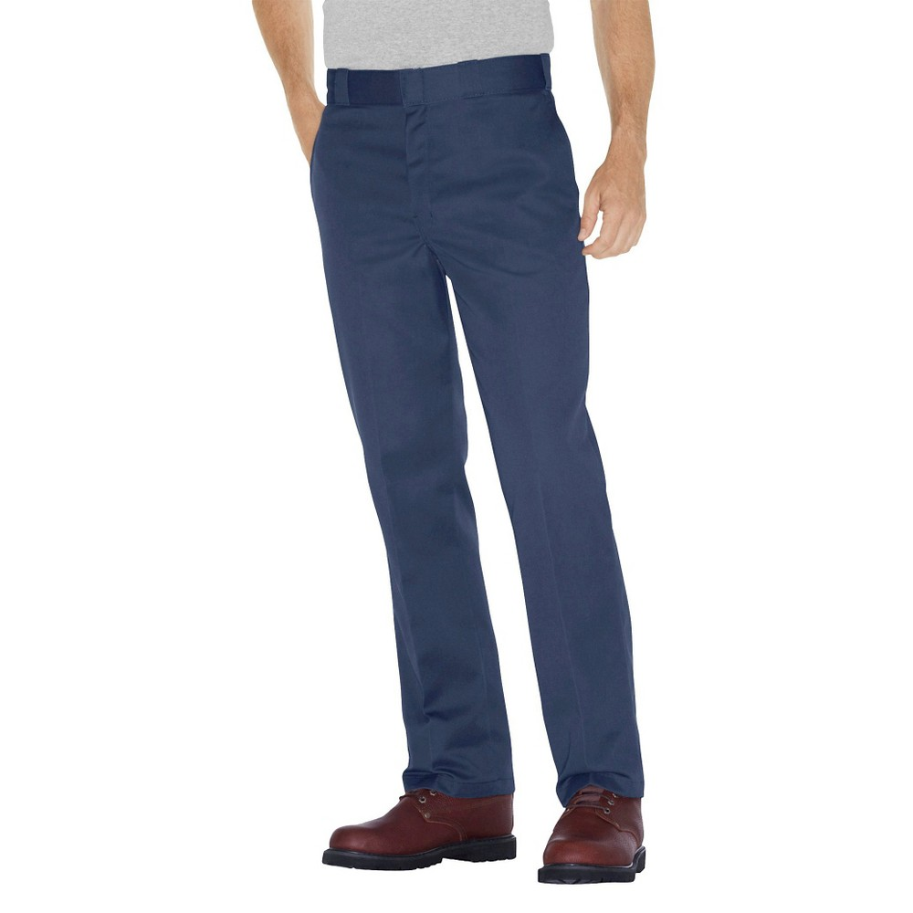 Dickies Men's Original Fit 874 Twill Work Pants - Navy (Blue) 34x30