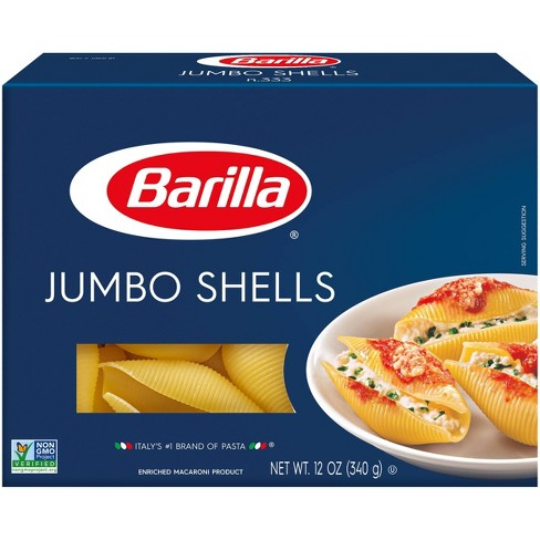 Barilla Jumbo Shells - 12oz - image 1 of 4
