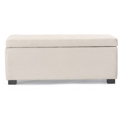 Arlo Tufted Storage Bench - Adore Décor