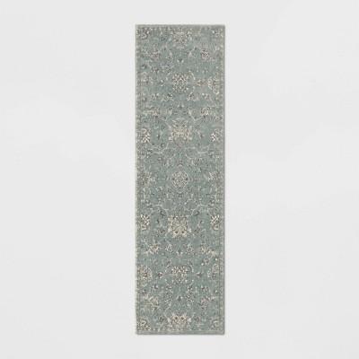 Latimer Distressed Persian Rug Light Blue - Threshold™