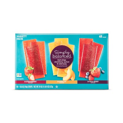 Fruit Strip Variety Pack - 25oz - Simply Balanced™