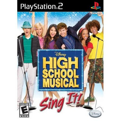 High School Musical: Sing It with Microphone - PlayStation 2