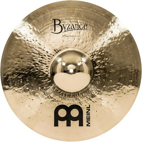 Meinl Byzance Brilliant Heavy Hammered Crash Cymbal   Target a8b0342c31