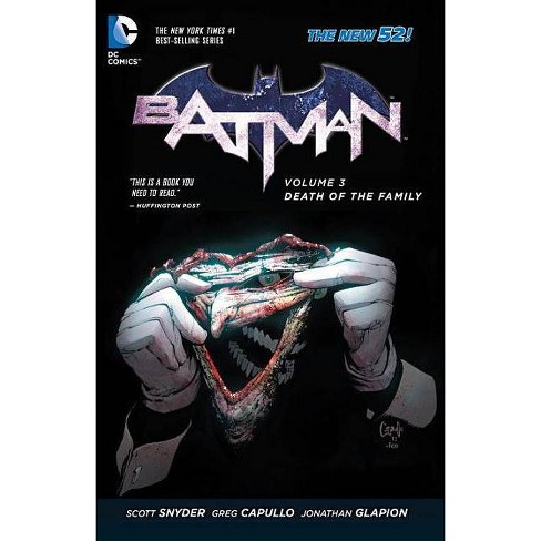Death of the Family - (Batman (DC Comics Paperback)) by  Scott Snyder (Paperback) - image 1 of 1