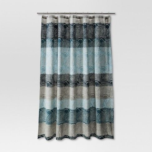 Scallop Dot Shower Curtain - Threshold™ - image 1 of 3