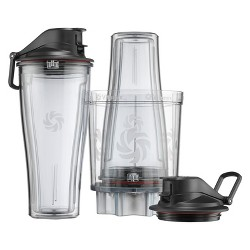 Vitamix 5pc Personal Cup and Adapter Kit Clear 061724