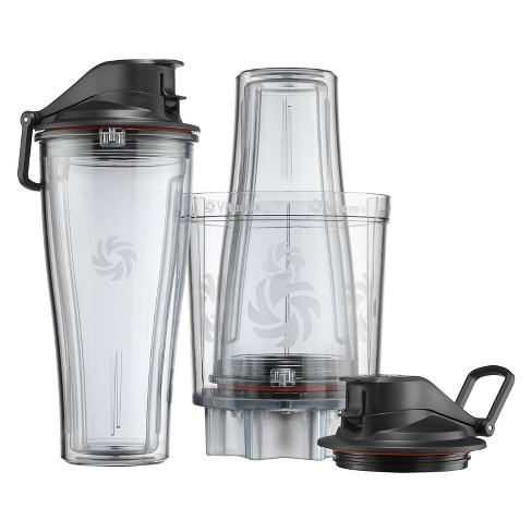 Vitamix 5pc Personal Cup and Adapter Kit Clear 061724 - image 1 of 3