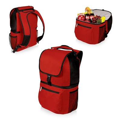 Picnic Time Zuma Insulated Backpack Cooler - Red