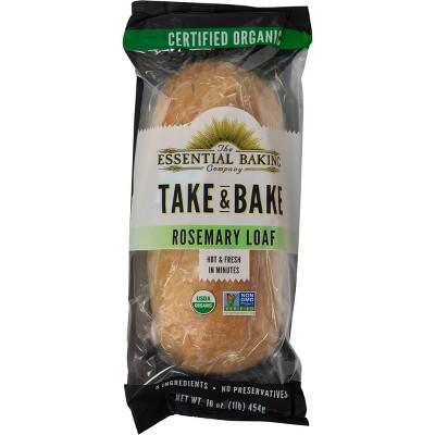 The Essential Baking Company Take & Bake Rosemary Bread - 16oz