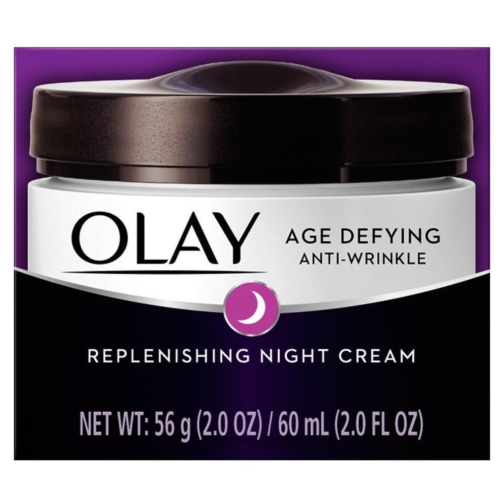 Image of Olay Age Defying Anti-Wrinkle Night Cream - 2 oz