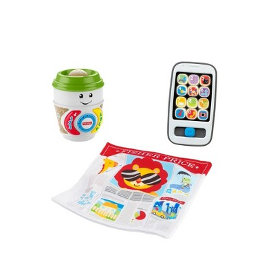 Fisher Price Laugh N Learn Coffee Break Giftset Target