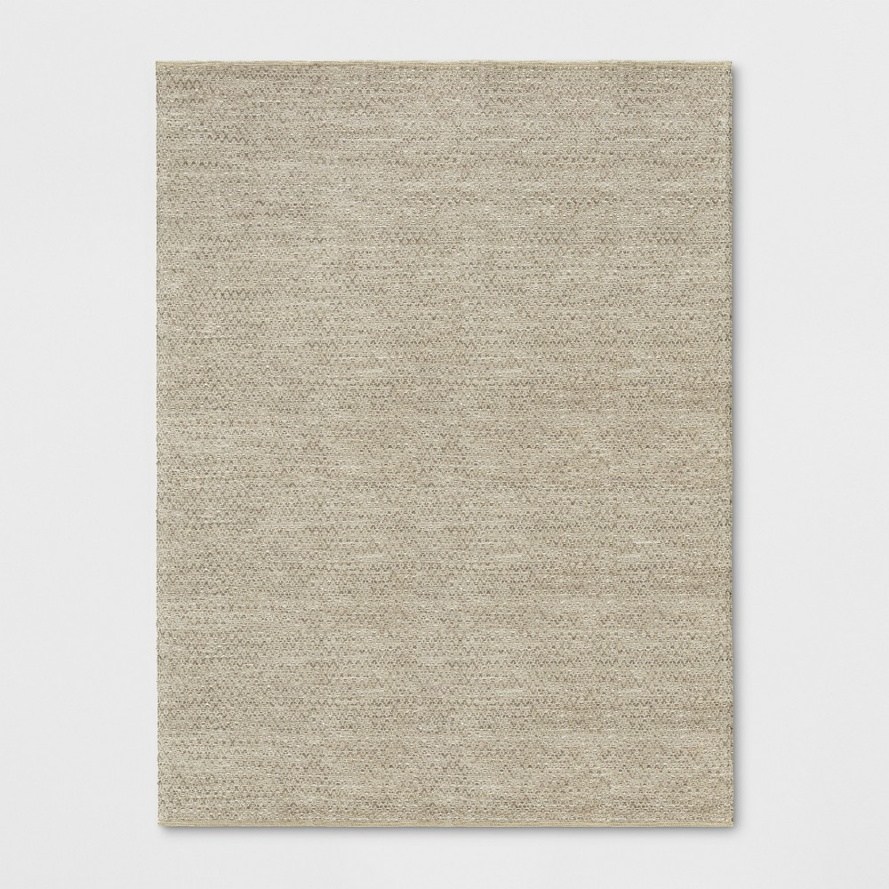 9'x12' Solid Woven Area Rug Natural - Threshold