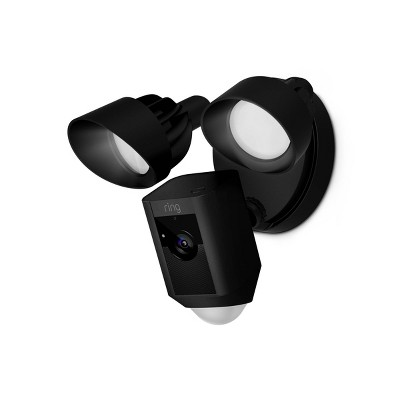 Ring Wired Floodlight Cam - Black