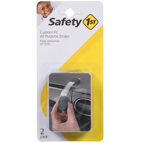 Safety 1st Custom Fit All Purpose Straps - Gray (2pack) - image 1 of 2