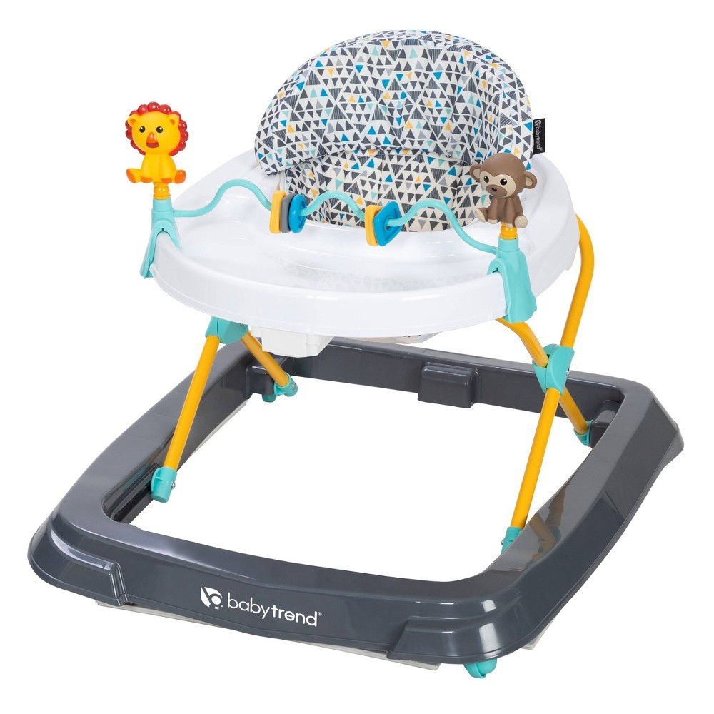 Image of Baby Trend Walker - Zoo-omerty, Gray White Yellow