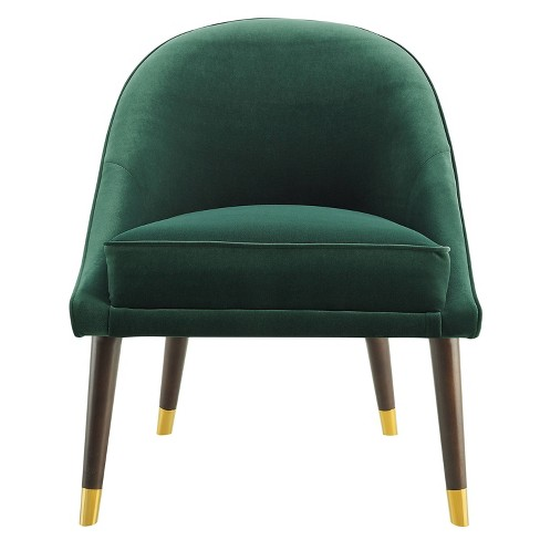18 Avalon Velvet Accent Chair Green Steve Silver Co Target