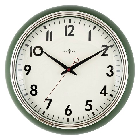 "14"" Schoolhouse Clock - Threshold™ - image 1 of 3"